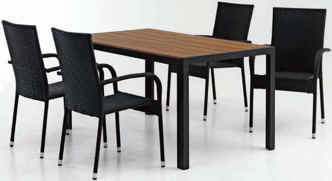 Stół Kjeller + 4 krzesła Gudhjem