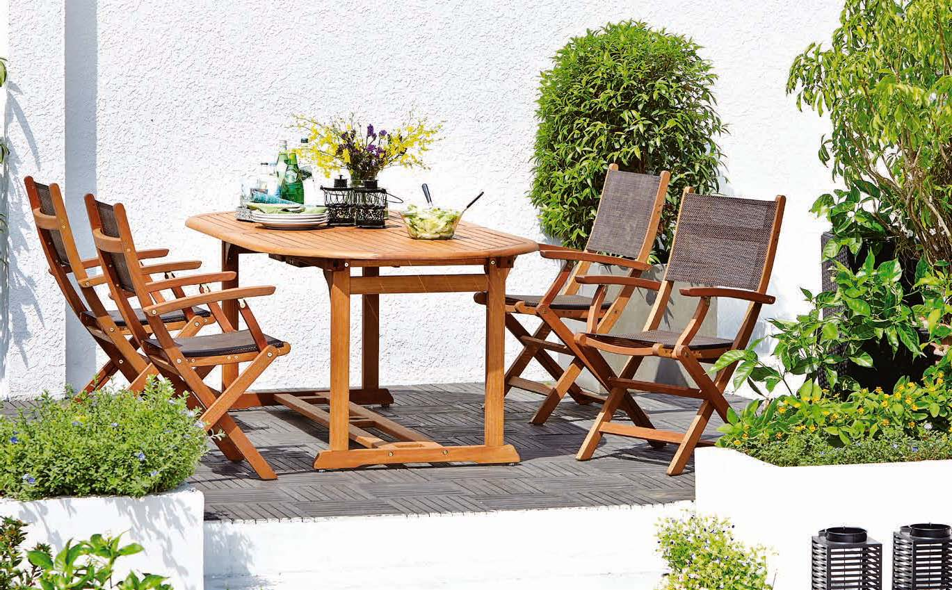 Stół grimstad + 4 krzesła Mora
