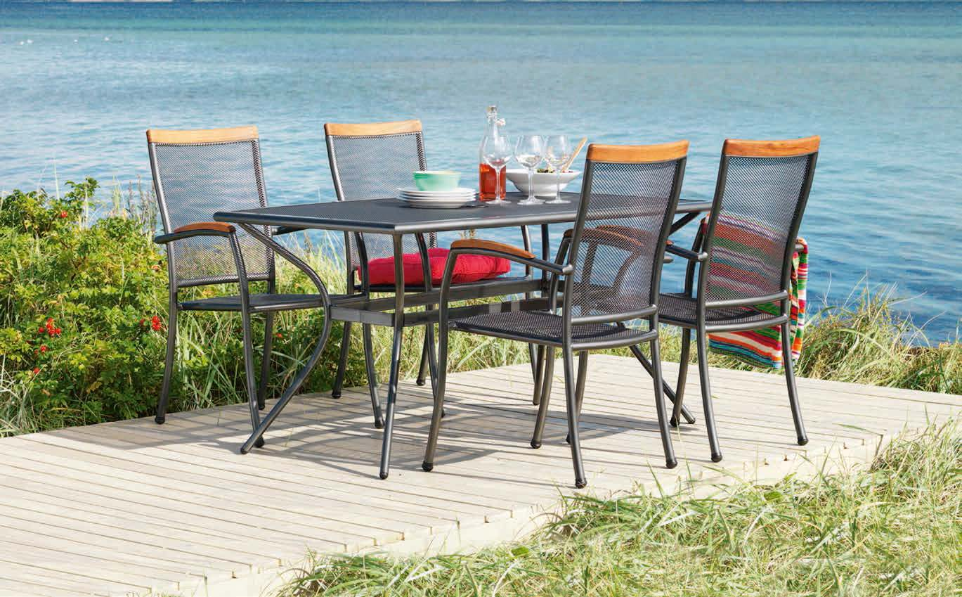 Stół Larvik + 4 krzesła Larvik