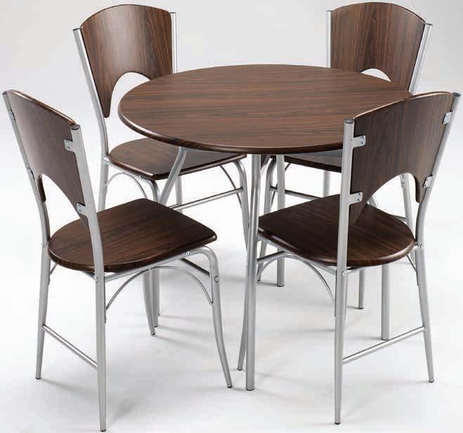 Stół thyholm + 4 krzesła Thyholm
