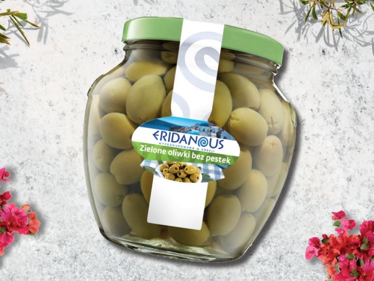 Oliwki zielone bez pestek, 1,6kg