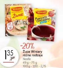 Zupa Winiary różne rodzaje Nestle
