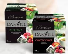 Herbata owocowa Danvill różne rodzaje Bastek