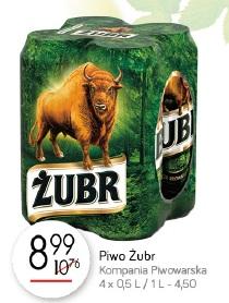 Piwo Żubr Kompania Piwowarska