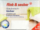 Flink&Sauber, Ściereczki do kurzu, opakowanie