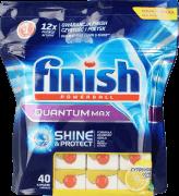 Finish, Quantum Max, tabletki wielofunkcyjne, cytrynowe