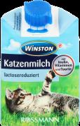 Winston, mleko dla kotów