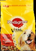 Pedigree, Adult sucha karma dla psów z wołowiną i drobiem