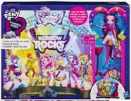 Figurki My Little Pony Koncert Rockowy