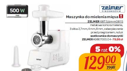 Maszynka do mielenia mięsa ZELMER 687.5/zmm0815