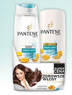 Zestaw Pantene: szampon+odżywka do włosów (400 ml + 200 ml)