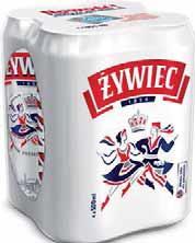 Piwo Żywiec 4 x 500 ml