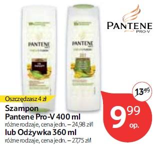 Szampon Pantene Pro-V 400 ml lub Odżywka 360 ml
