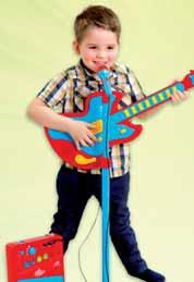 Zestaw gitara z mikrofonem Carousel