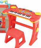 Keyboard ze stołkiem Carousel