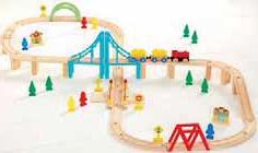 Zabawka kolejka drewniana Carousel