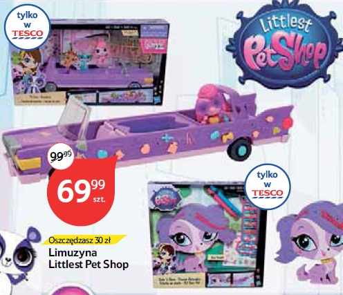 Archiwum Limuzyna Littlest Pet Shop Tesco 21 05 2015 01 06 2015