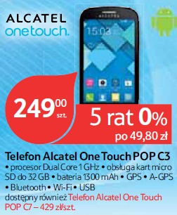 Telefon Alcatel One Touch POP C3