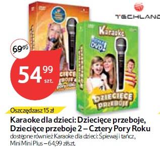 Karaoke dla dzieci: Dziecięce przeboje, Dziecięce przeboje 2 – Cztery Pory Roku