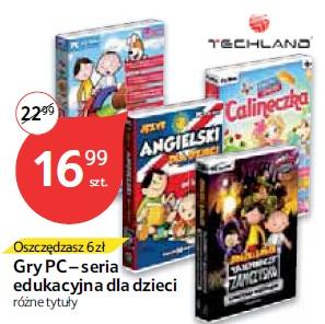 Gry PC – seria edukacyjna dla dzieci