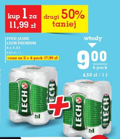 Piwo jasne lech pr emium
