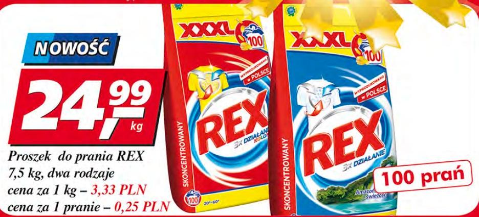Proszek do prania REX