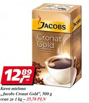 Kawa mielona Jacobs Cronat Gold