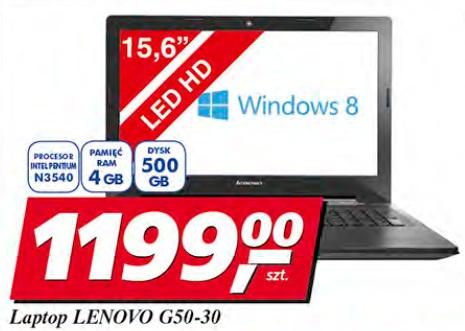 Laptop Lenovo G50-30
