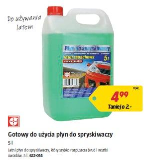 Gotowy do użycia płyn do spryskiwaczy 5 l