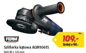 Szlifierka kątowa AGM1061S 900 W • 125 mm