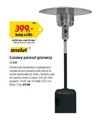 Gazowy parasol grzewczy 13 kW