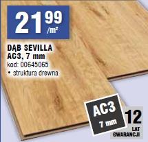 DĄB SEVILLA AC3, 7 mm