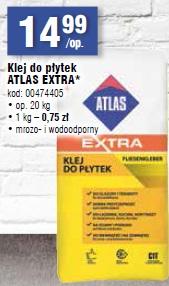 Klej do płytek ATLAS EXTRA*