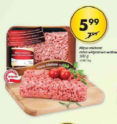 Mięso mielone extra wieprzowe -wołowe