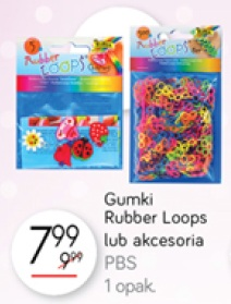 Gumki Rubber Loops lub akcesoria PBS