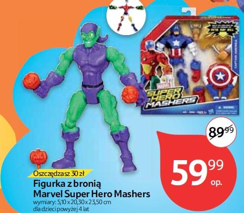 Figurka z bronią Marvel Super Hero Mashers