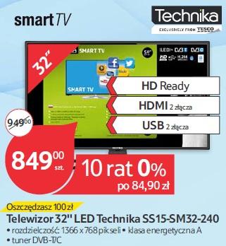 Telewizor 32'' LED Technika SS15-SM32-240