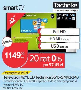 Telewizor 42'' LED Technika SS15-SM42-240