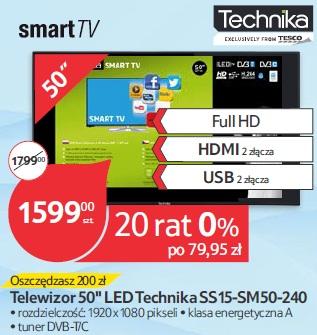 Telewizor 50'' LED Technika SS15-SM50-240