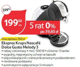 Ekspres Krups Nescafé Dolce Gusto Melody 3