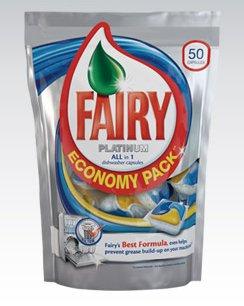 Kapsułki do zmywarki Fairy Platinum