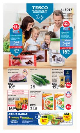 Tesco Supermarket: 3 gazetki