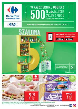 Carrefour: 3 gazetki