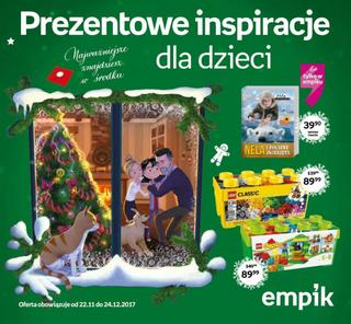 Empik: 3 gazetki