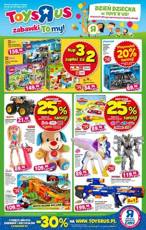 Toys'r'us: 2 gazetki