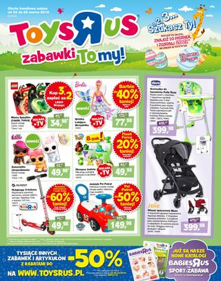 Toys'r'us: 3 gazetki