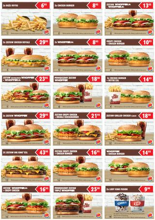 Burger King: 1 gazetka