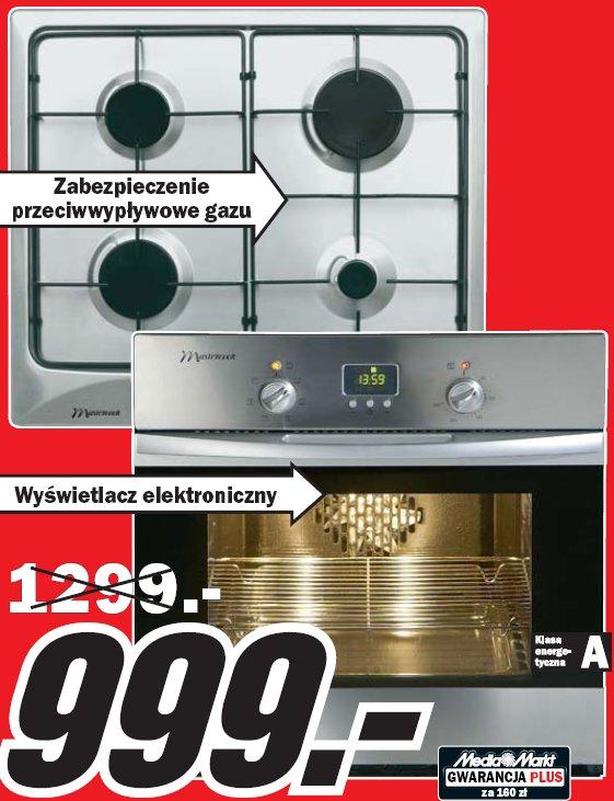 Archiwum  Kuchnia do zabudowy Mastercook M5EX + 2MIE   -> Kuchnie Gazowe Mastercook Ceny