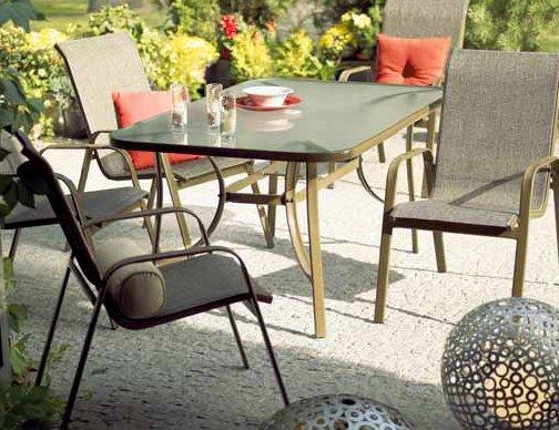 Meble ogrodowe BROWN  stół