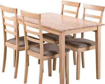 Archiwum Stół Do Jadalni Johan 4 Krzesła Johan Jysk 26